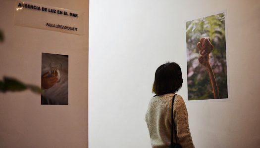 """Exposición """"Ausencia de luz en el mar""""  Galería CamaraLucida de Valparaíso"""